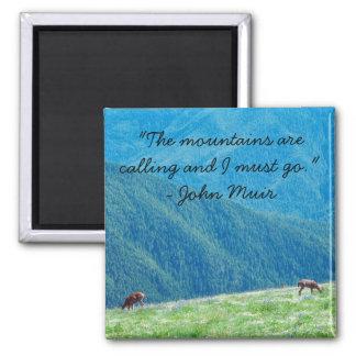 Imã Fanfarrões pelas montanhas
