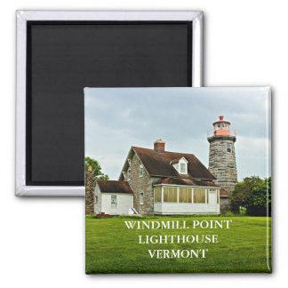 Imã Farol do ponto do moinho de vento, ímã de Vermont