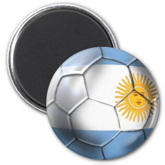 Imã Fãs de esportes da bola de futebol de Argentina