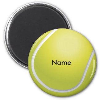 Ímã feito sob encomenda da bola de tênis ímã redondo 5.08cm