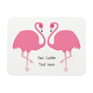 Ímã feito sob encomenda do texto dos flamingos