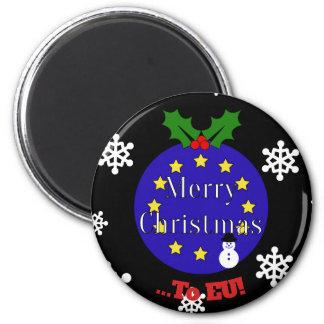 """Imã """"Feliz Natal. À UE!"""" Natal de Brexit"""