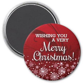 Imã Feliz Natal (vermelho)
