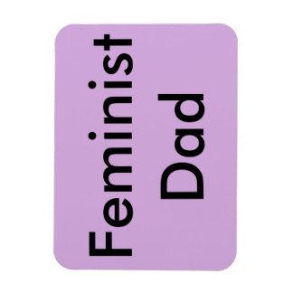 Ímã feminista do carro do pai