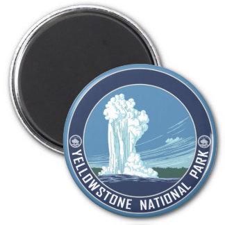 Imã Fiel velho - parque nacional de Yellowstone