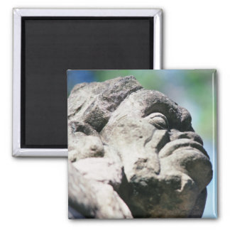 Imã Figura de pedra cinzelada ruínas maias antigas
