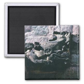 Imã Figura de pedra cinzelada ruínas maias Copan