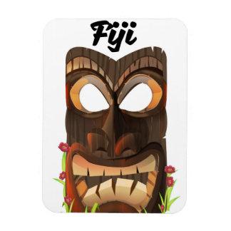 Ímã Fiji cinzelou a máscara
