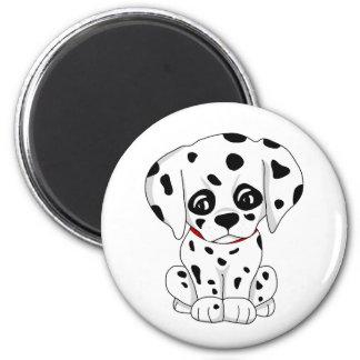 Imã Filhote de cachorro Dalmatian bonito