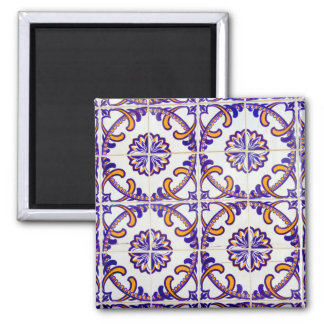 Imã Fim-acima do teste padrão do azulejo, Portugal