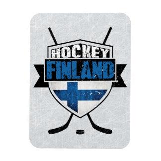 Ímã finlandês de Suomi do protetor do hóquei