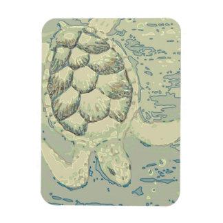 Ímã flexível da tartaruga do fantasma