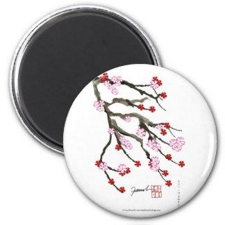 Imã flor de cerejeira 10 Tony Fernandes