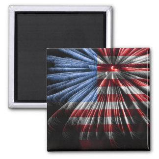 Imã Fogos-de-artifício da bandeira americana