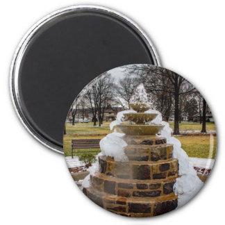 Imã Fonte congelada