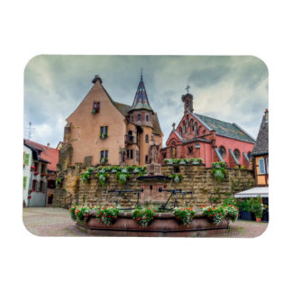 Ímã Fonte de Santo-Leon em Eguisheim, Alsácia, France