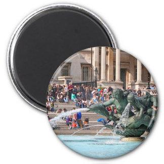 Imã Fonte, quadrado de Trafalgar, Londres, Inglaterra