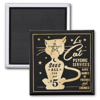 Imã Fortuna do vintage que diz o design - Le Gato