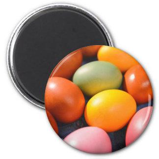 Imã Foto colorida do costume dos ovos da páscoa