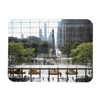 Ímã Foto de negligência da Nova Iorque do círculo de