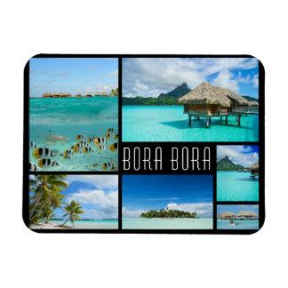 Ímã Foto do viagem da colagem das paisagens de Bora