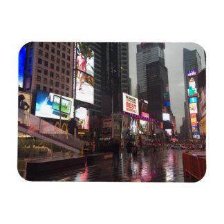 Ímã Foto dos sinais de néon da Nova Iorque NYC do