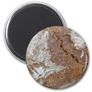 Imã Foto macro da superfície do pão de mistura de Ger