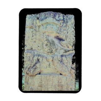 Ímã Foto maia antiga de Copan Honduras das ruínas
