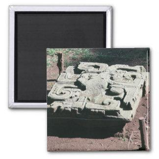 Imã Foto maia de Copan Honduras das ruínas projetada