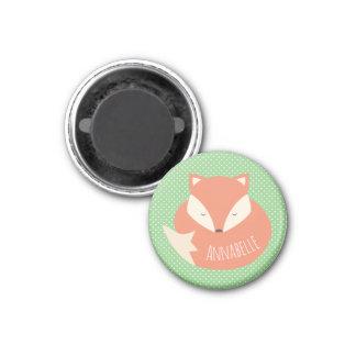 Imã Fox bonito personalizado do sono