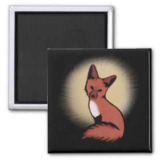 Imã Fox Foxy vermelho bonito