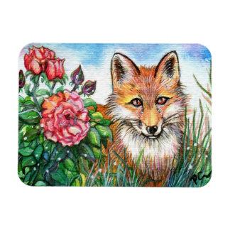 Ímã Fox por Bush cor-de-rosa
