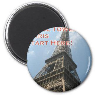 Imã Francês do verão 2016 de Paris France da torre
