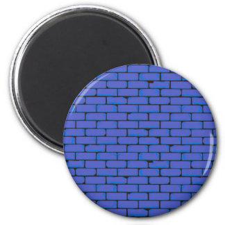 Imã Fundo azul largo da parede