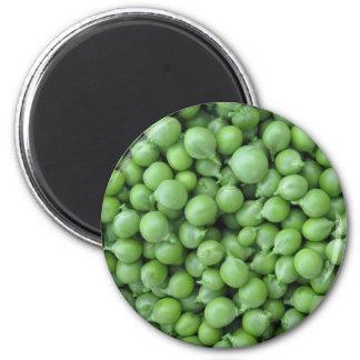 Imã Fundo da ervilha verde. Textura de ervilhas verdes