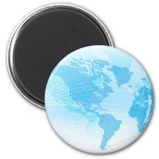 Imã Fundo global do abstrato da terra do mapa do mundo