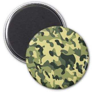 Imã Fundo verde do teste padrão da camuflagem do preto