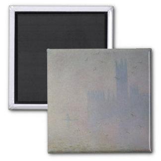 Imã Gaivotas de Claude Monet | sobre casas do