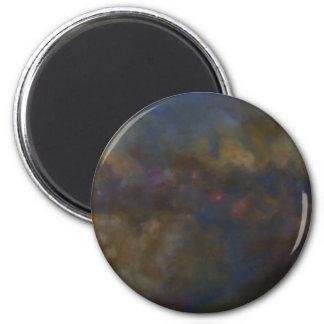 Imã Galáxia abstrata com nuvem cósmica