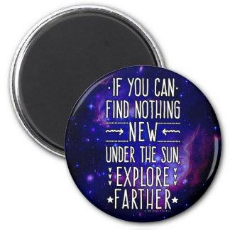 Imã Galáxia/nebulosa do espaço com palavras da