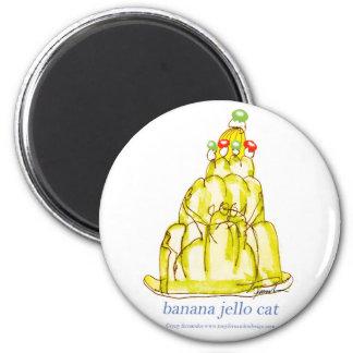 Imã gato do jello da banana dos fernandes tony