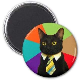Imã gato do negócio - gato preto
