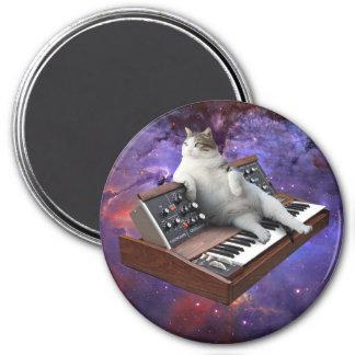 Imã gato do teclado - memes do gato - gato louco