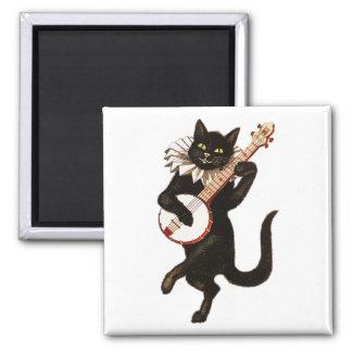 Imã Gato que joga o banjo