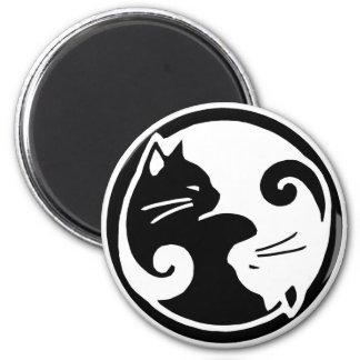 Imã Gatos de Yin Yang