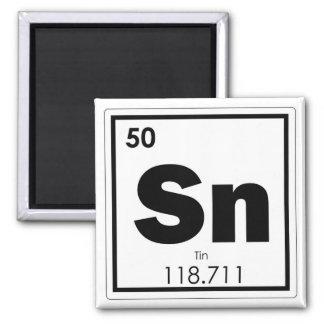 Imã Geek da fórmula da química do símbolo do elemento