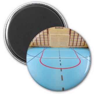 Imã Ginásio europeu vazio para esportes da escola