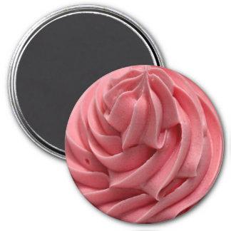 Imã Glacé da morango ou ímã cor-de-rosa do sorvete
