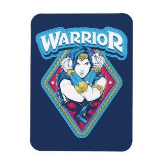 Ímã Gráfico do guerreiro da mulher maravilha