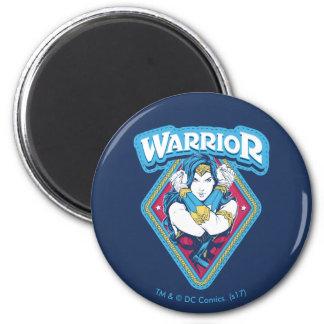 Imã Gráfico do guerreiro da mulher maravilha